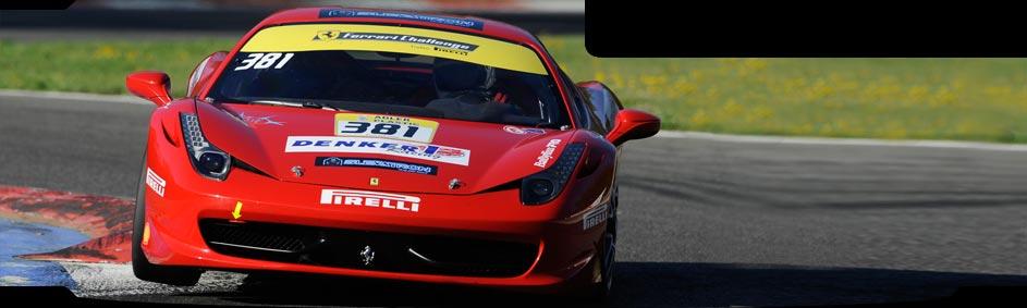 Ferrari 458 Challenge – Závodní tým DENKER/SLEVATRON