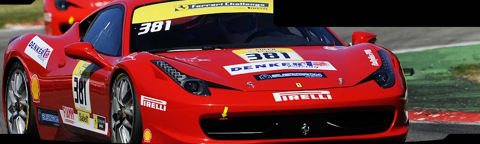 Ferrari 458 Challenge  Zvodn tm DENKER/SLEVATRON